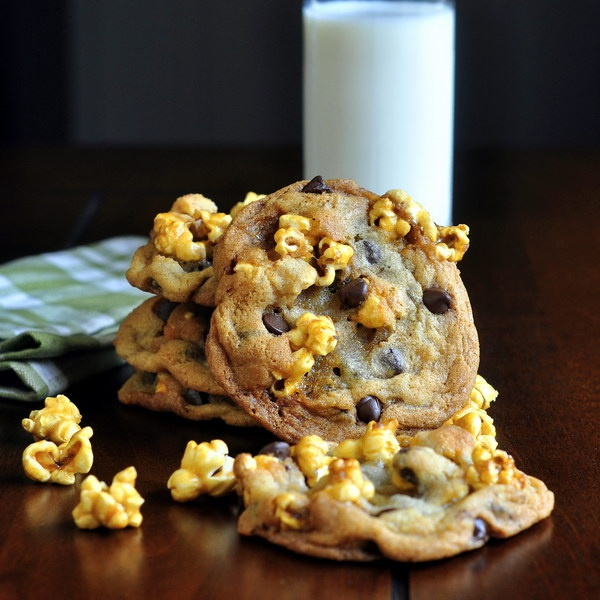Caramel Apple N' Chocolate Chip Cookies Recipe — Dishmaps