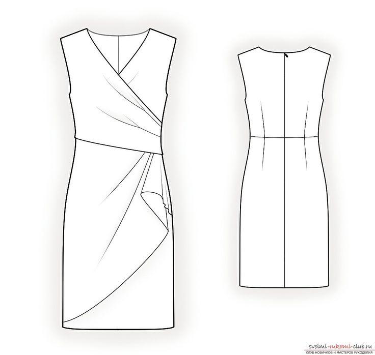 Простые и сложные выкройки платьев для полных. Фото №3