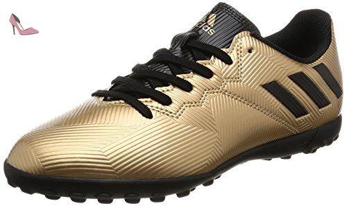 adidas Ace Tango 17.2 in J, Chaussures de Football Entrainement Garçon, Blanc (Footwear White/Footwear White/Core Black), 37 1/3 EU