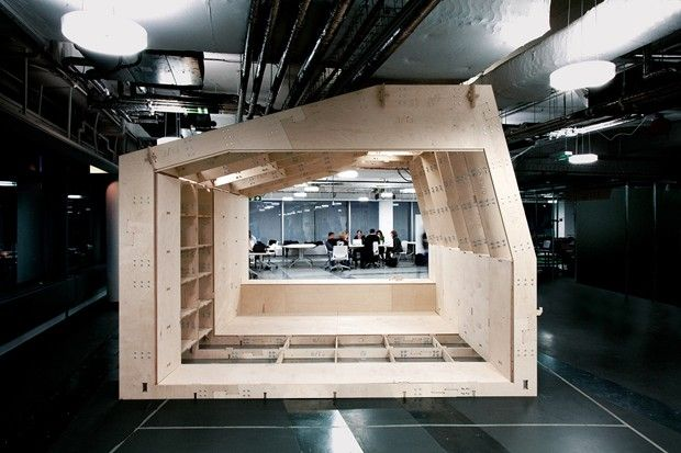 Wikihouse - open source DIY house