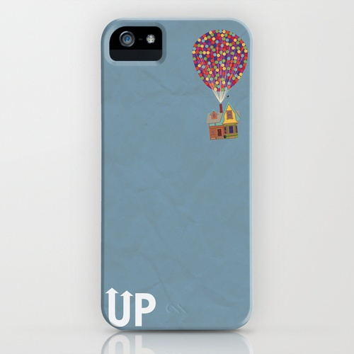 Disney Pixar's Up ~ A Minimalist Poster iPhone Case