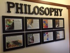 Something displaying our EYs philosophy would be nice in the communal space.