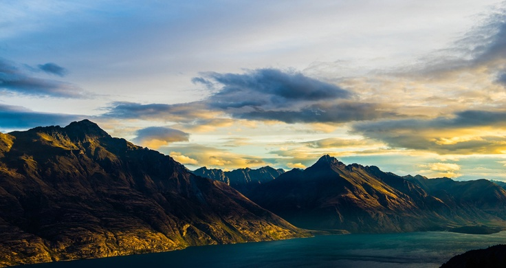Sun set on Queenstown