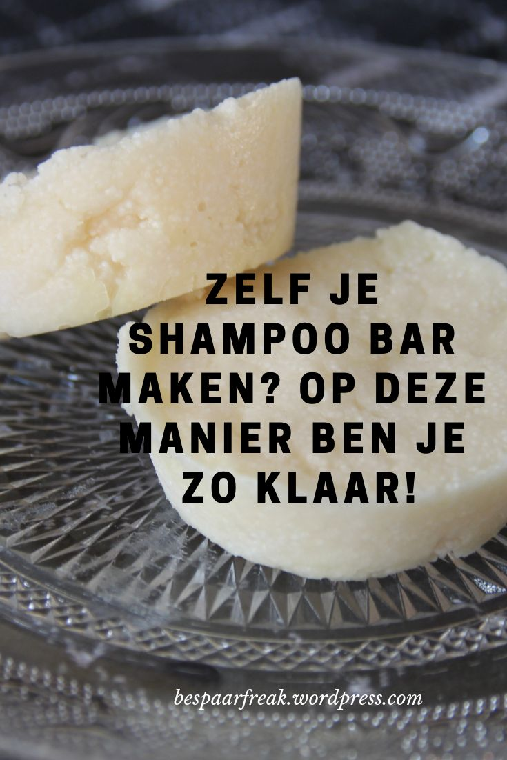 Super clean and so ready, this delicious shampoo bar