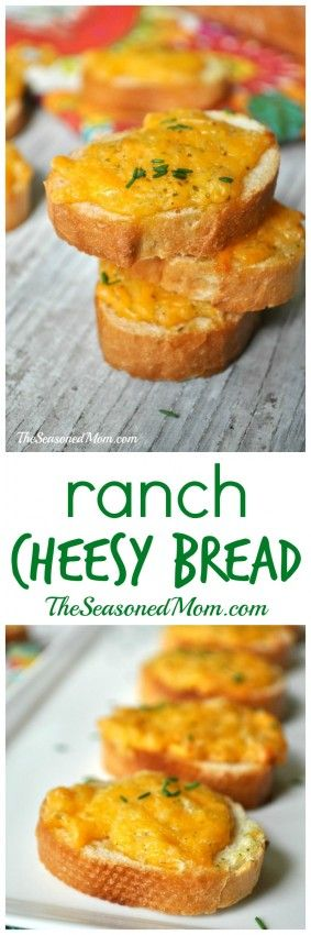 Ranch Cheesy Bread