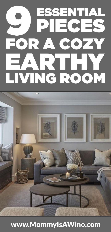 Earthy Living Room Decor