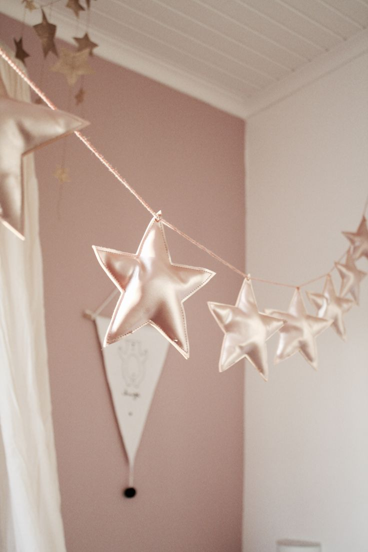 Dusty pink stars | #vikingtoys