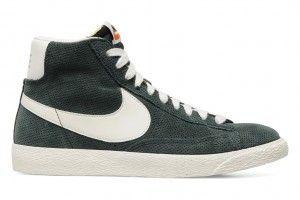 Sconto Nike Blazer Mid 09 Donne Scarpe Gialle Bianco Arancione Scontate