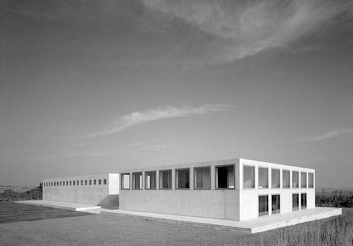 Gerhard Merz with EDM Architekten, art storage and display space, Dresden 1998
