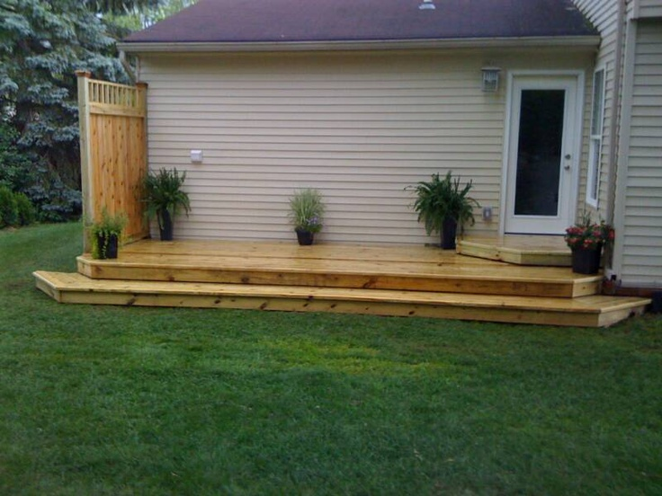 15 best box steps images on pinterest for Box steps deck