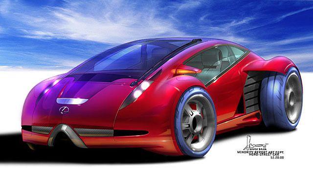 Lexus 2054 Minority Report, 2002