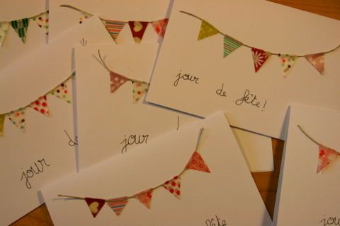 Cartes d'invitation by Lison la bricole