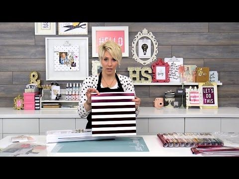 Tips & tricks to get started using the Minc Foil Applicator with Heidi Swapp - YouTube