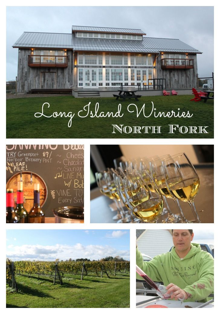 North Fork Wineries of Long Island - the perfect getaway or spring, summer or fall! The most intimate wineries and great tasting wine!