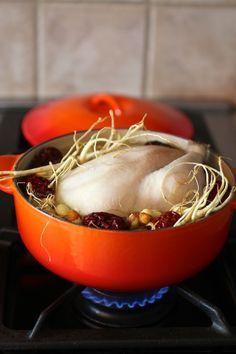 Samgyetang 삼계탕 Korean Ginseng Chicken Soup Recipe