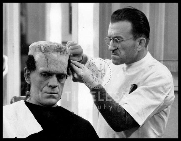 Jack Pierce MakeUp di #EffettiSpeciali - #Makeup #TimelessBeauty