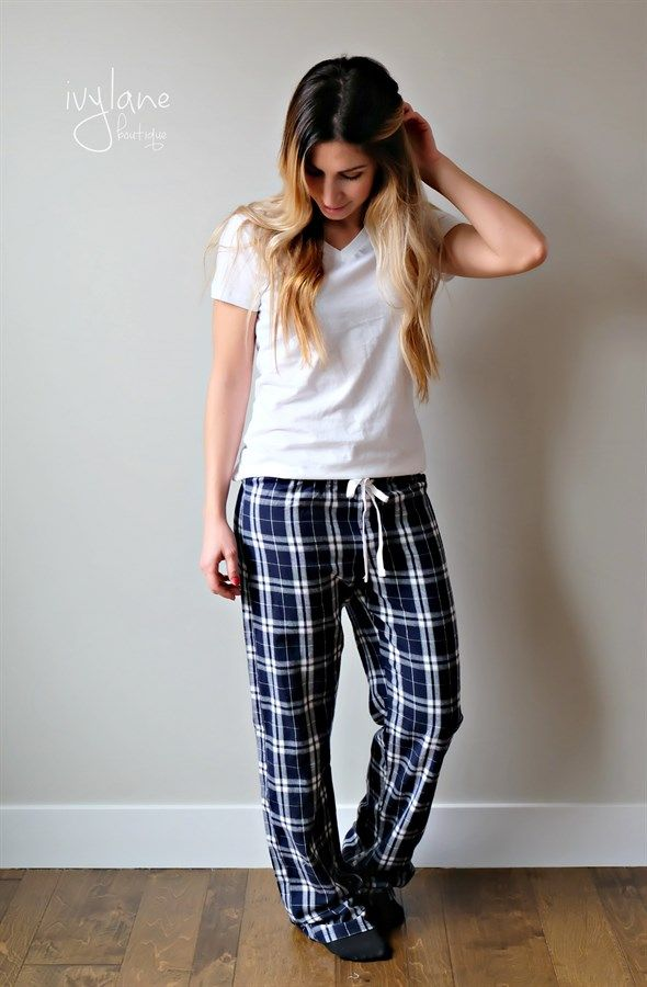 Our plaid pajama pants are available in both Women's and Men's Sizing, so you and your sweetie can match this Christmas! 6 color options, sizes XS-2XL.