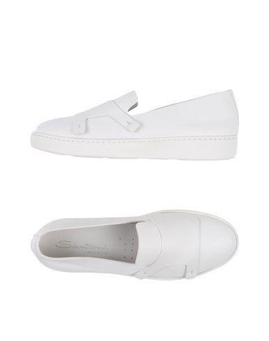 SANTONI Women's Low-tops & sneakers White 11.5 US