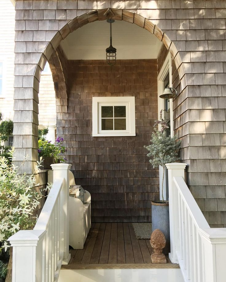 gorgeous cape cod porch