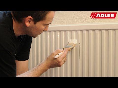Metall im Innenbereich lackieren - HAMMERITE Innen Metallschutz- & Heizkörperlack - YouTube