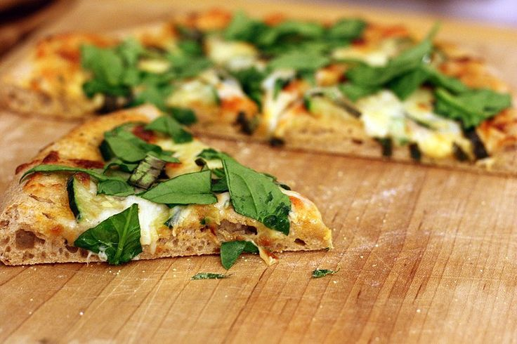 Whole Wheat Pizza (for 2 slices) grains (whole grain crust)=2 milk and ...