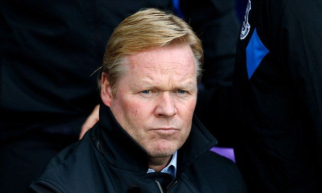 Ronald Koeman feared for his job when he saw fixtures