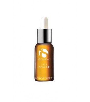 C Eye Advance +: Es un contorno de ojos en textura serum específico para aclarar las ojeras. Contiene factor de crecimiento de tripéptido de cobre patentado y Vitamina C de liberación sostenida (ácido L-Ascórbico estabilizado) y Ácido Hialurónico al 40%.
