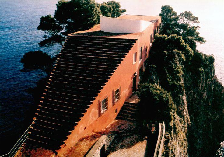 Casa Malaparte, Adalberto Libera and Curzio Malaparte