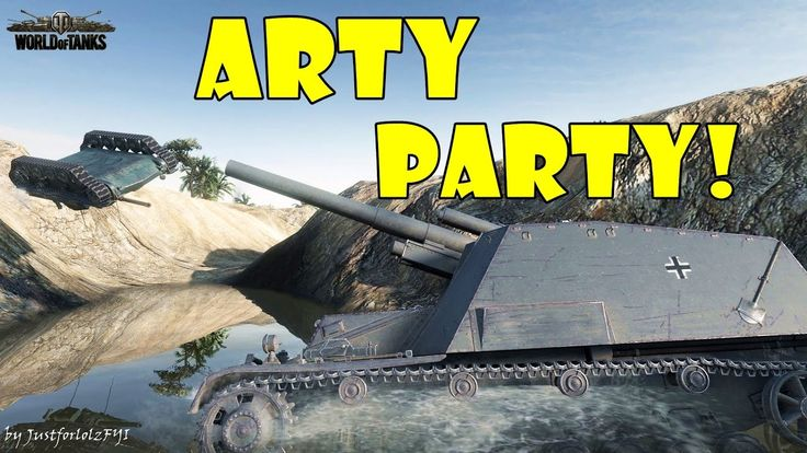 World of Tanks - Funny Moments | ARTY PARTY! #27