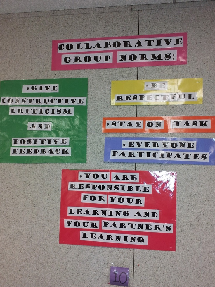Collaborative Work In The Classroom ~ Best images about group class norms on pinterest cute