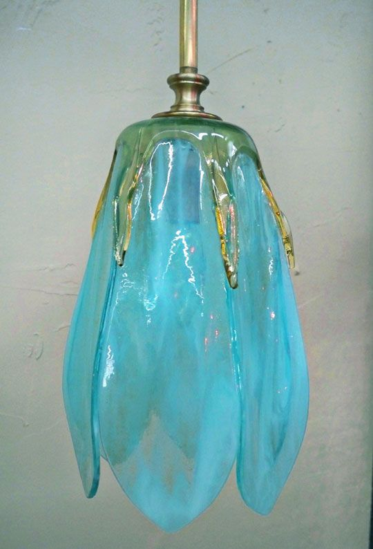 Slumped Glass Wall Sconces : 42 best Fused Glass - Draped Lampwork images on Pinterest Stained glass, Glass lights and ...