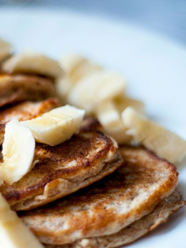 2 Ingredients, Gluten-Free Easy Banana Pancakes - A super simple and protein packed breakfast | Ioanna's Notebook