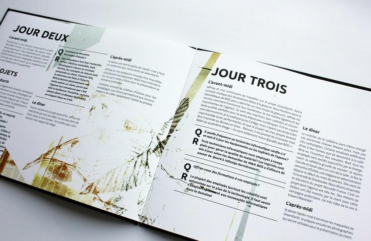 Bos Communication / Rapport de stage, Laurence Pilon