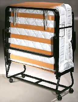 A roll away bed will be an awesome space saver :) :)