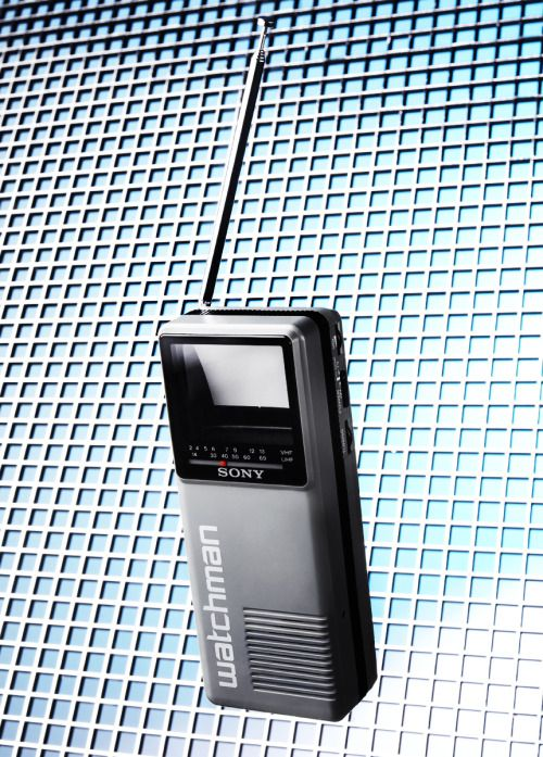 Sony FD-10A Watchman Portable TV 1987