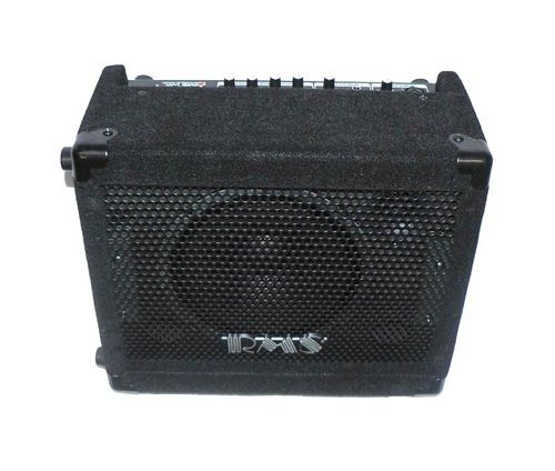 RMS AC/DC 15w Guitar Amplifier - BC Wholesalers 15 Watt AC/DC Rechargeable Guitar Amp with Microphone & Instrument Input.