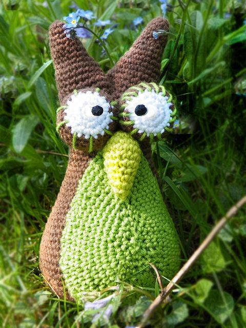 Eule amigurumi owl häkeln crocheted by Pfiffigste Fotos, via Flickr
