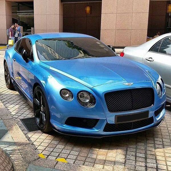 Bentley Club Azerbaijan Bentleyclubbaku On Instagram: Sky Blue Bentley Continental GT~