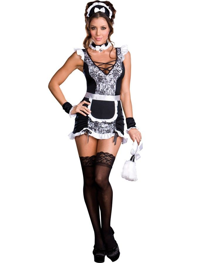 Parisian Provacateur Maid Womens Costume
