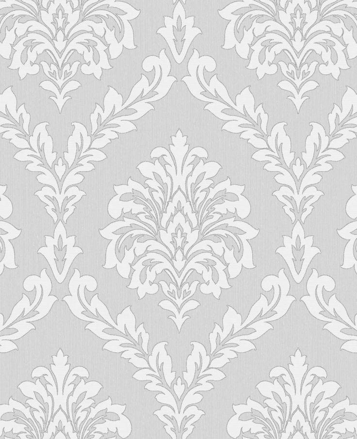 1000 ideas about grey damask wallpaper on pinterest. Black Bedroom Furniture Sets. Home Design Ideas