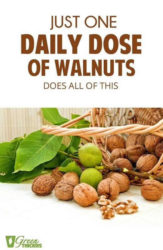 Just One Daily Dose Of Walnuts Does All Of This