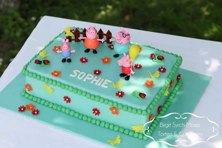 Peppa Pig Birthday Cake - Birgit Syrch-Moser - Google+