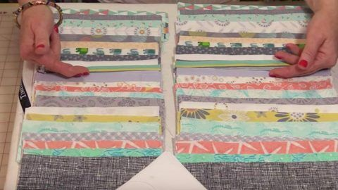 Cutting 7″ to 9″ Strips, She Sews Them Together. The Next Thing She Does Is Brilliant | DIY Joy Projects and Crafts Ideas