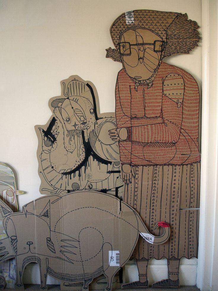 Grandma Cardboard | Flickr - Photo Sharing!