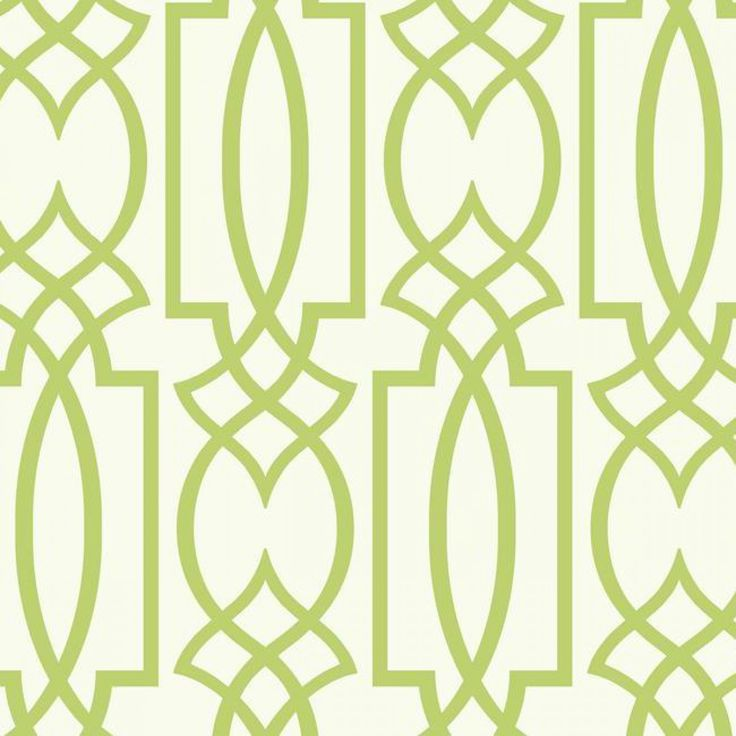 Geometric lattice green wallpaper green bedroom design ...
