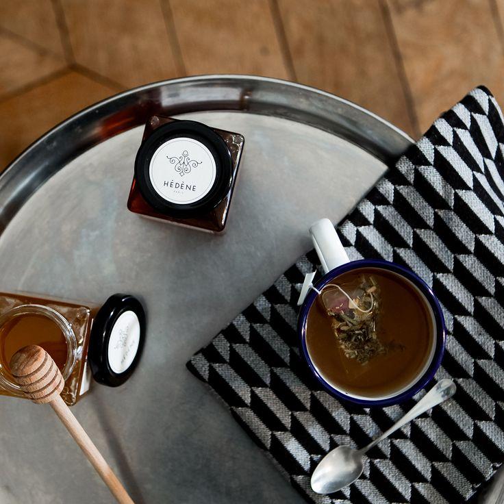Instant thé au miel de France Hédène