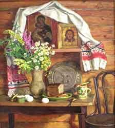 художник РодионовыНина Павловна и Валерий Васильевич Родионовы гордость Ивановского края, выдающиеся живописцы.