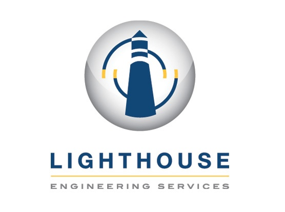 Lighthouse Engineering Services Logo Design
