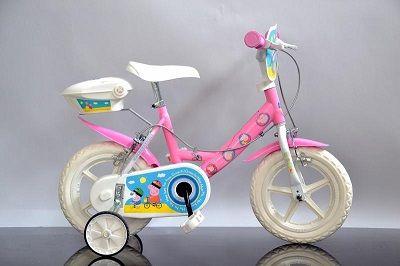 La nuova nata in casa Dino Bikes, la bici di Peppa Pig, con la solità qualità che contraddistingue la produzione della ditta di Borgo San Dalmazzo.