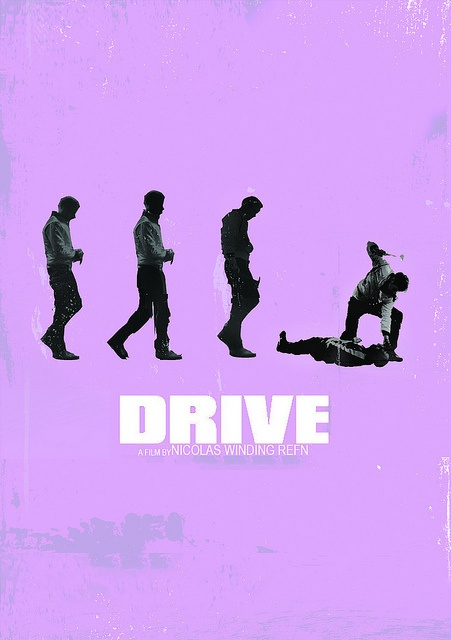 Drive Fan Art Poster